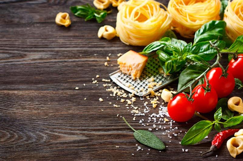 ingredientes más importantes de la cocina italiana